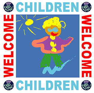 VisitScotland Children Welcome Logo