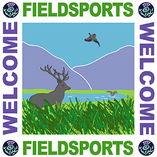 VisitScotland Field Sports Welcome Logo