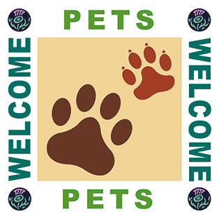 VisitScotland Pets Welcome Logo